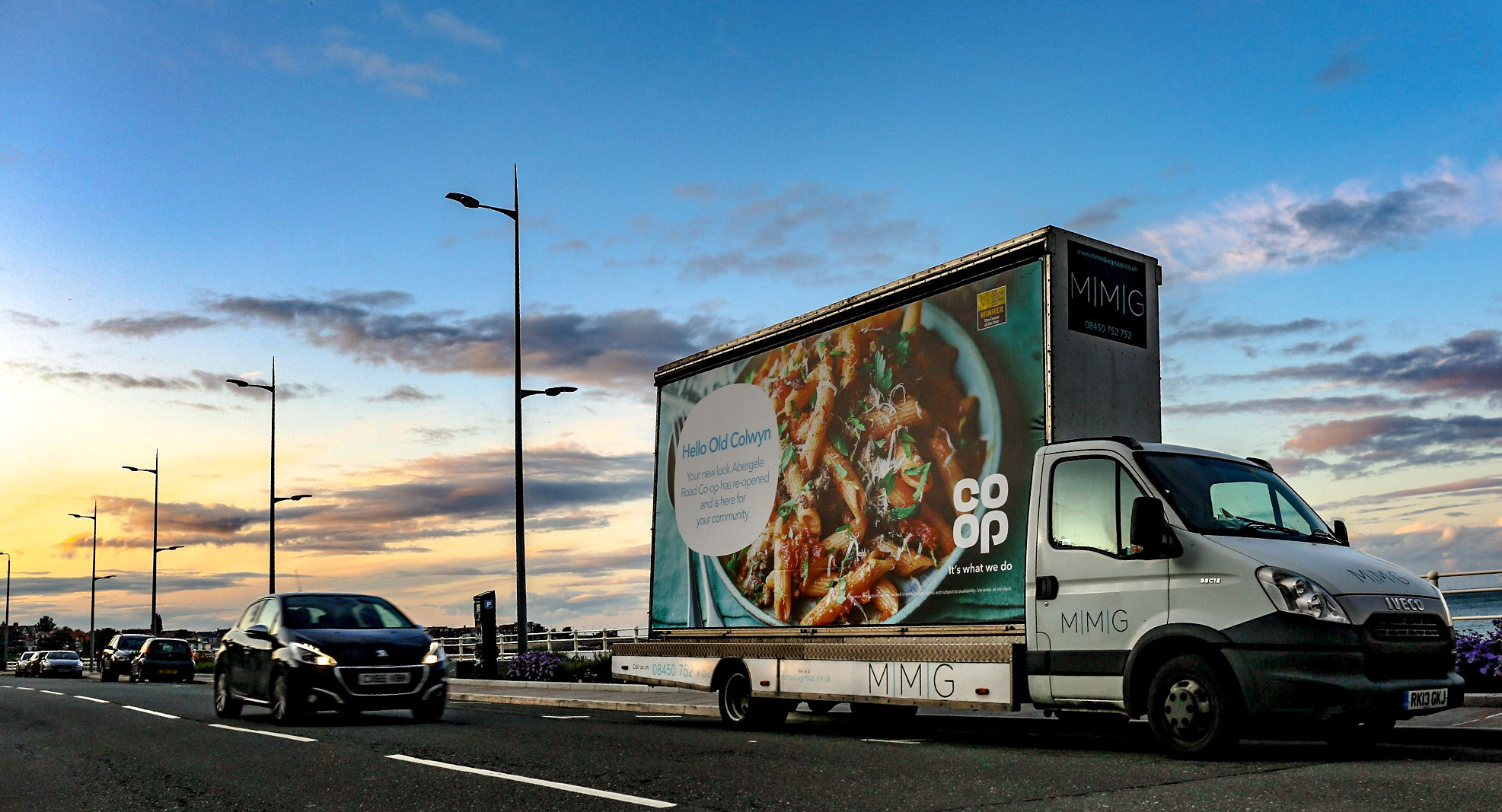 Co-Op Advert Van Campaign